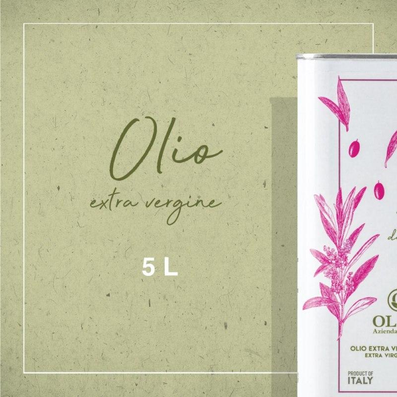 latta-5-litri- tonda iblea - Agricola Oliva
